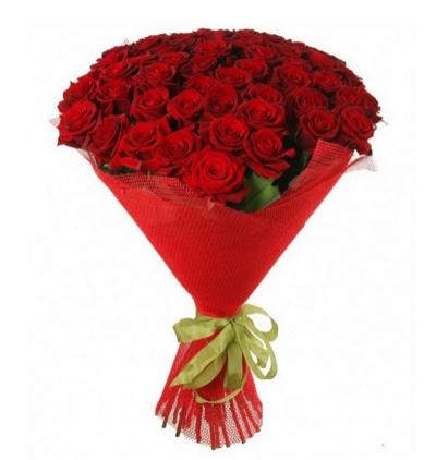 доставка цветов Белек Букет из 41 красной розы