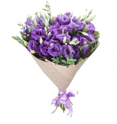 доставка цветов Белек  Фиолетовый Лизантус