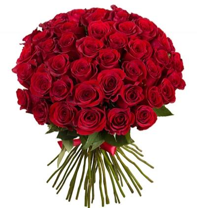 доставка цветов Белек Шикарный букет из 51 красной розы