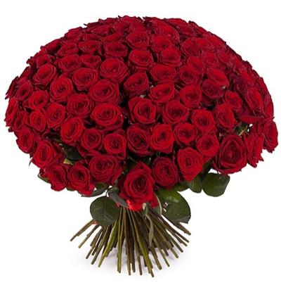 доставка цветов Белек 101 Букет из красных роз
