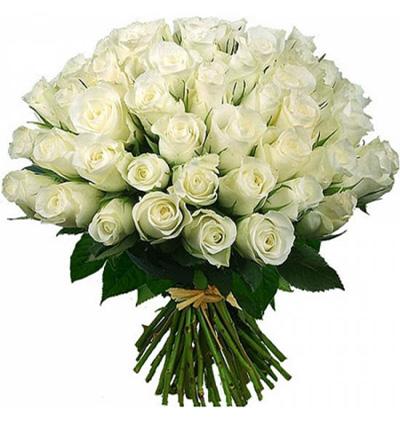доставка цветов Белек Букет из 51 белой розы