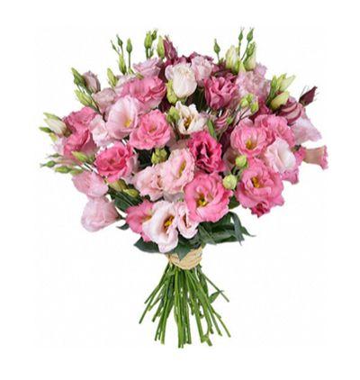 доставка цветов Белек Розовый букет Lisyantus