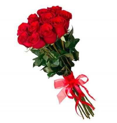blumen in belek 11 Rote Rosen Bouquet